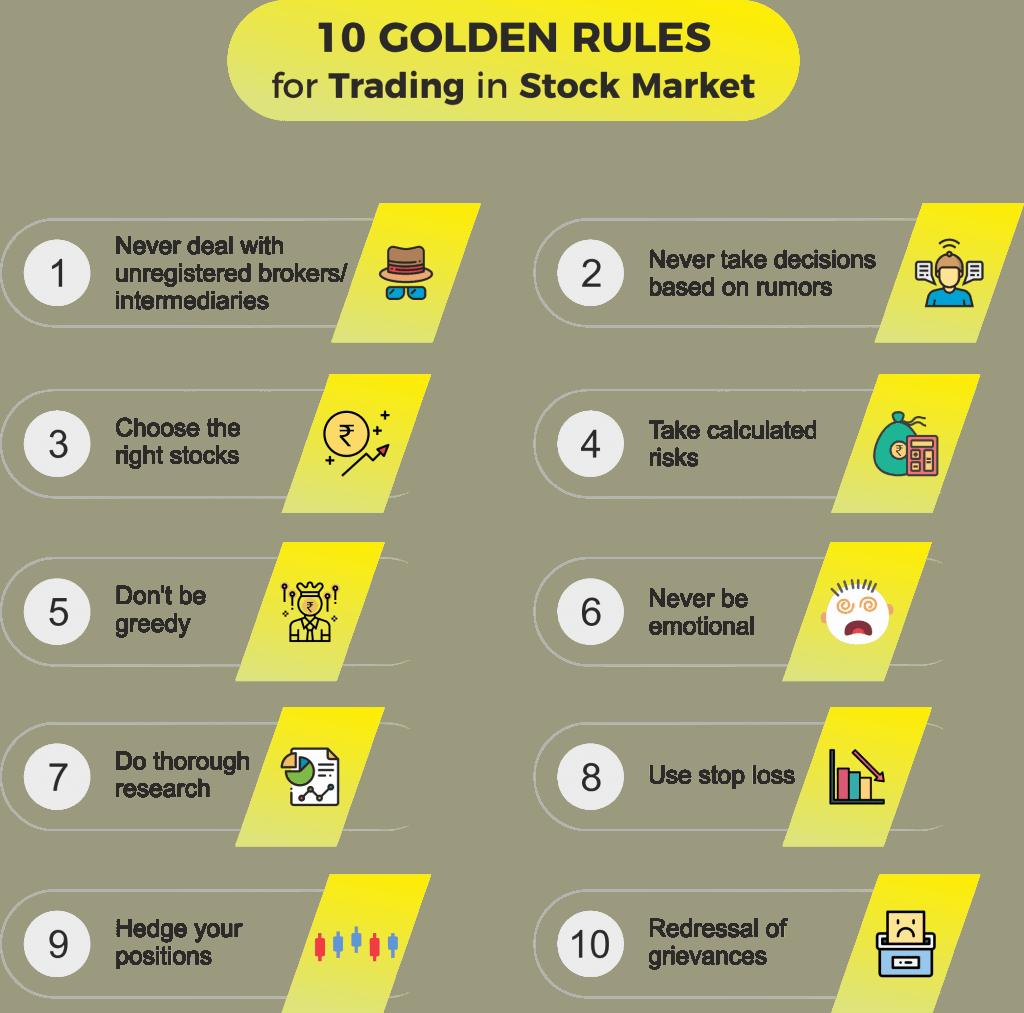 10 golden rules for stock market tips